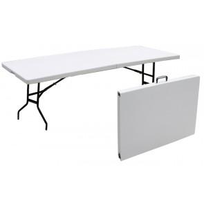 Tavolo pieghevole in plastica HDPE cm 183 x 74 x 74