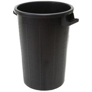 Bidone in plastica senza coperchio lt. 100 diam. 53 cm h 66 cm
