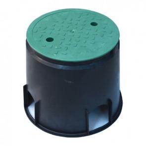 Pozzetto per valvole chiusura con bullone mini circ. cm 16 x h 23