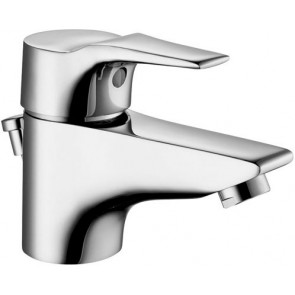 Monocomando lavabo serie flat cromo