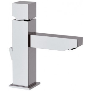 Miscelatore monocomando lavabo linea cubic cromo