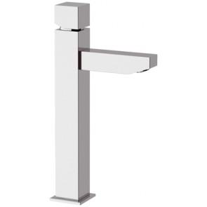 Miscelatore monocomando lavabo alto linea cubic cromo