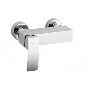Monocomando esterno doccia senza accessori linea marte cromo