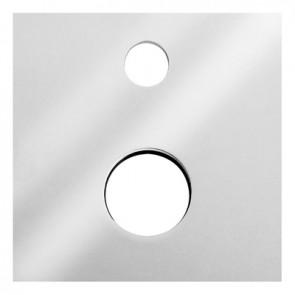 Placca per misc. incasso con deviatore polar nostro art. 272-p045