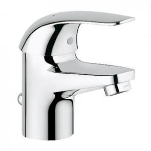 Miscelatore monocomando lavabo linea euroeco cromo