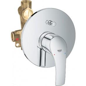 Miscelatore monocomando incasso doccia c/dev. linea eurosmart cromo