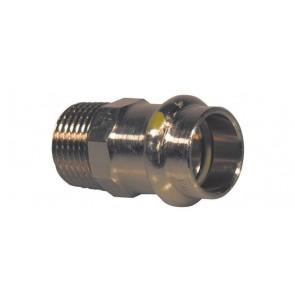 Manicotto bronzo f x fil. m per gas viega diam. 18 x 1/2