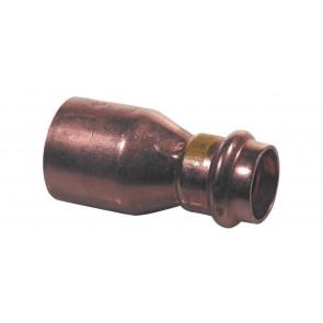 Manicotto di riduzione mf rame per gas viega diam. 35 x 28