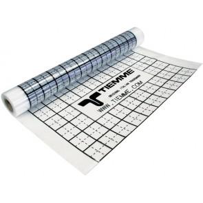 Foglio pe con funzione isolante e barriera anti-umidita'