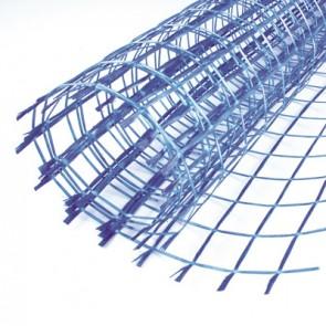 Rete in fibra trattata antialcalino rotolo 1mt x 50mt