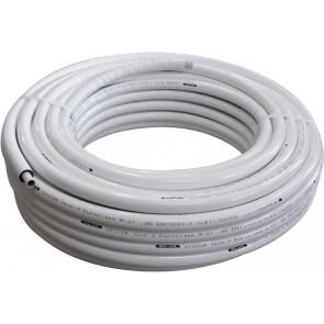 Tubo multistrato nicoll system coibentato 6mm 26 x 3
