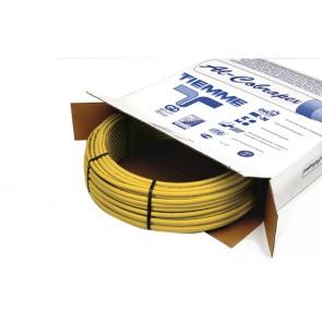 Tubo multistrato giallo nudo uso gas tiemme diam. 26 x 3
