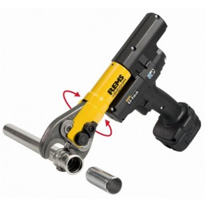 Pressatrice radiale a batteria mini-press acc-lion + 3 pinze mini
