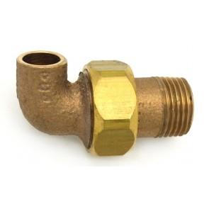Gomito bronzo 3 pezzi m. a saldare 1/2 x 12