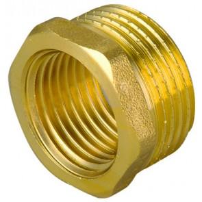 Riduzione mf in ottone giallo 3/4 x 1/2