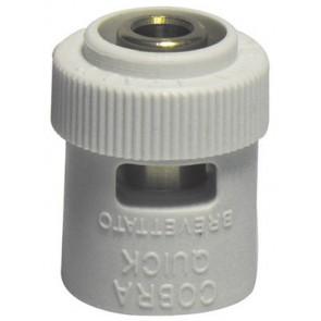 Adattatore bianco per innesto tubo multistrato *brevettato* 1/2 x 16