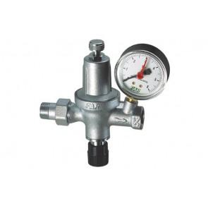 Gruppo di riempimento automatico cromato con manometro (far) m.f. 1/2 gas