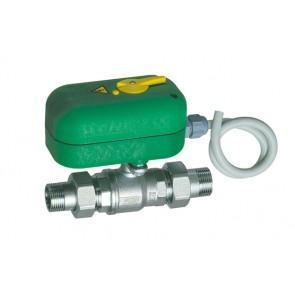 Valvola di zona a 2 vie mm motorizzata con bocchettone 3/4 x 40s