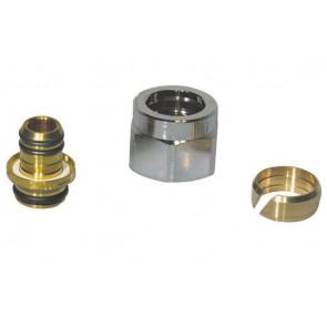 Adattatore eurokonus per tubo multistrato (far) 16 x 2