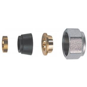Kit di tenuta in gomma a compressione per tubo rame in 4 pz (far) diam. 14