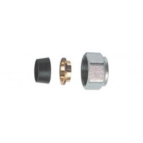Kit di tenuta in gomma a compressione per tubo rame in 3 pz (far) diam. 16