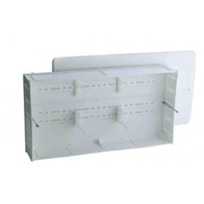 Cassetta di ispezione in plastica (sf) mm 400 x 260 x 95