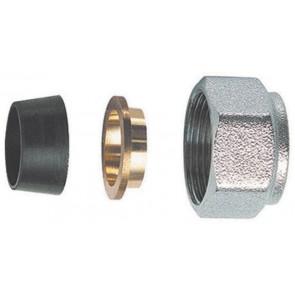 Kit di tenuta in gomma a compressione per tubo rame 3 pz (sf) diam. 16