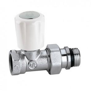 """Valvola termostatizzabile diritto per tubo in ferro 1/2"""""""
