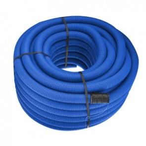 Tubo polietilene corrugato doppia parete blu diam. 63