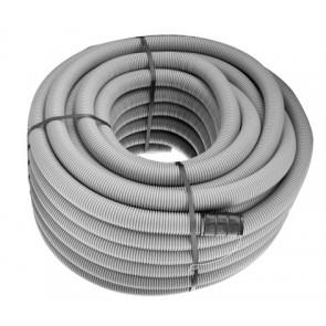 Tubo polietilene corrugato doppia parete grigio ce diam. 75
