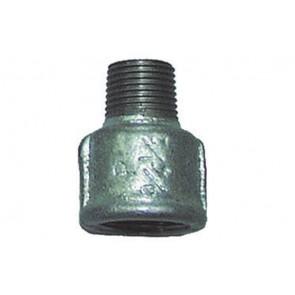 """Manicotto di riduzione mf zincato 1"""" x 3/4"""