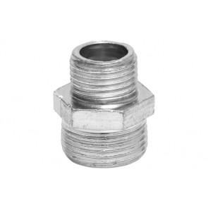 Nipples ridotto in acciaio 1/2 x 1/4