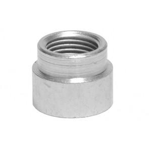 Manicotto ridotto ff in acciaio 3/8 x 1/4