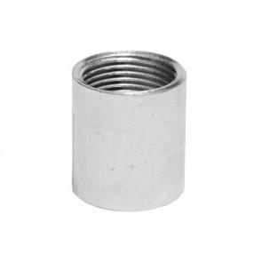 """Manicotto liscio in acciaio 1""""1/2"""