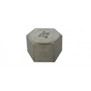 """Calotta esagonale acciaio inox 1/2"""""""