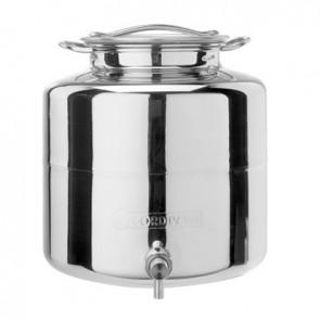 Contenitore per olio di casa con rubinetto mod. anforella lt. 10