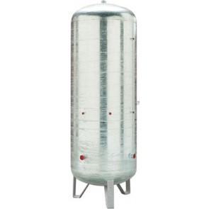 Serbatoio zincato per accumulo verticale senza c.e. lt 100
