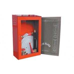 Cassetta antincendio da esterno dn 45 con lancia 3 effetti mm. 580 x 370 x 200
