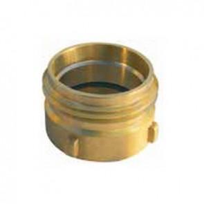 """Riduzione in ottone fissa m uni 810 - f gas iso 228 1"""" 1/4 f"""
