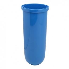 Bicchiere opaco blu per filtri sx - 3p mod. senior blu (pet)