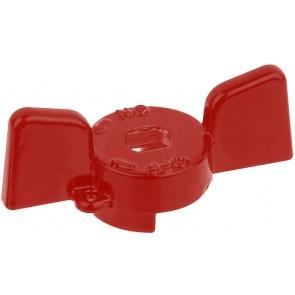 """Farafalla alluminio rossa per valvole e rubinetti bugatti 1/2"""""""