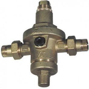 Riduttore di pressione c/bocchettoni m. pn 40 c/camera di compens. 1/2