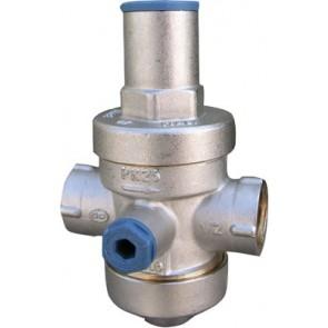 Riduttore di pressione a pistone pn25 con sede in acciaio inox 1/2