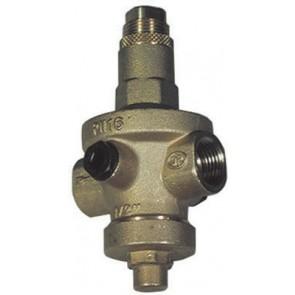 Riduttore di pressione rio export sede in acciaio inox (or) 3/4