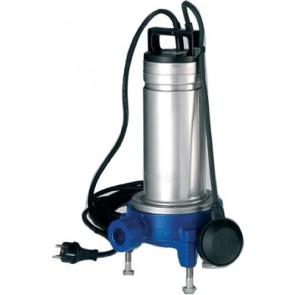 Elettropompe sommerse per acque cariche con trituratore kw 1.1 hp 1.5