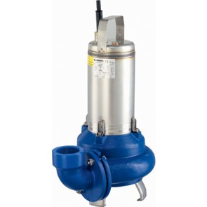 Elettropompa sommergibile serie domo per acque sporche trifase kw 1.5 - hp 2