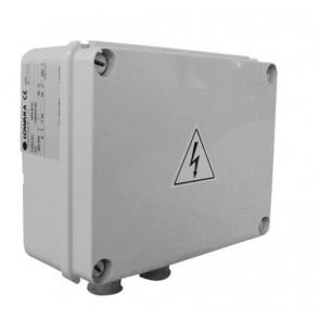 """Quadro elettrico monofase per pompe sommerse da 4"""" kw 1.5 - hp 2"""