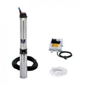 "Kit elettropompa sommersa mod. ""cs4"" 4"" kw 1.1 hp 1.5"