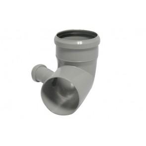 Curva pp htb con attacco bicchiere destro valsir diam. 110/50
