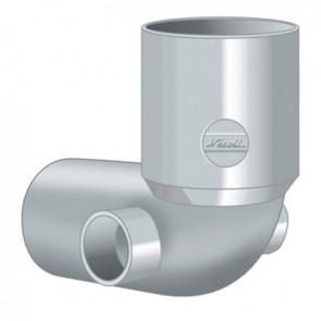 Curva wc con 2 attacchi laterali d. 100-40-40